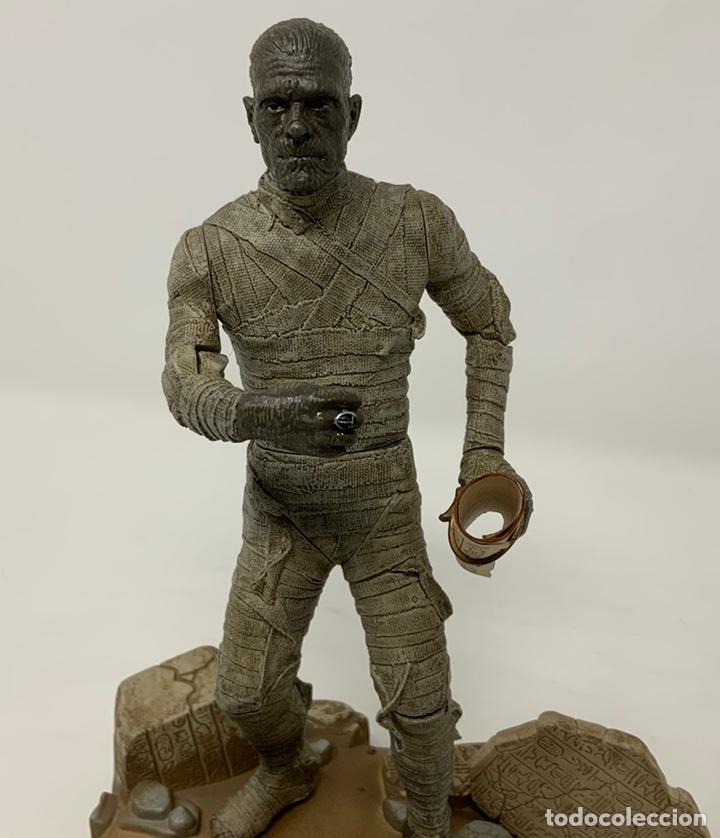Figuras de acción: THE MUMMY BORIS KARLOFF 1932 FIGURA SIDESHOW. 21cm - Foto 4 - 181730023