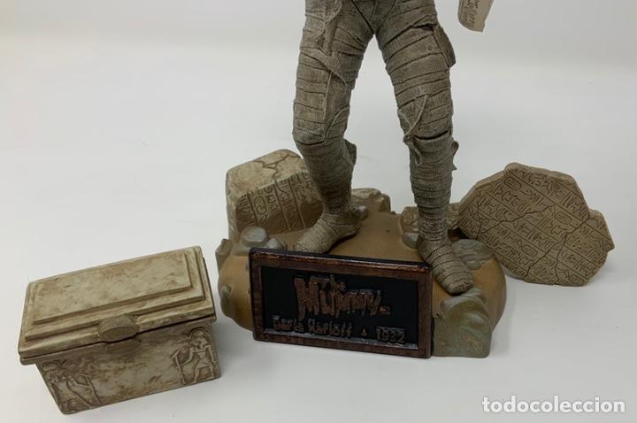Figuras de acción: THE MUMMY BORIS KARLOFF 1932 FIGURA SIDESHOW. 21cm - Foto 6 - 181730023