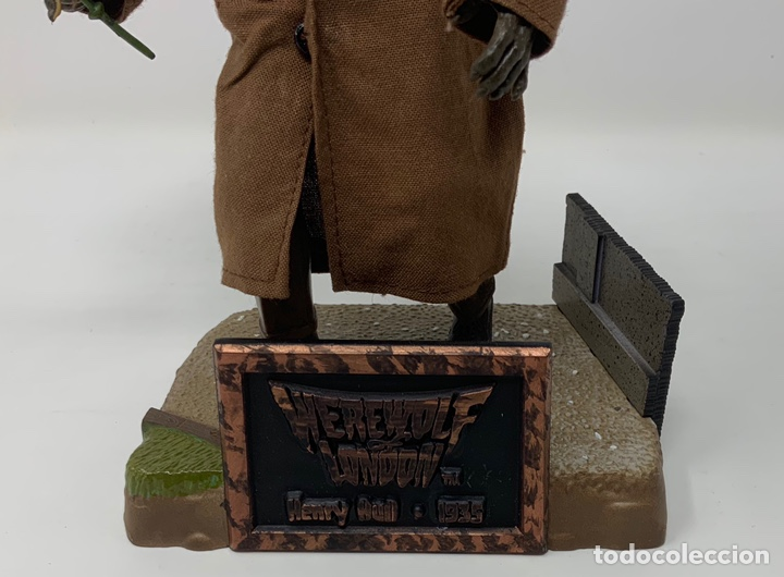 Figuras de acción: WEREWOLF OF LONDON HENRY HULL 1935 FIGURA SIDESHOW. 21cm - Foto 6 - 181730790