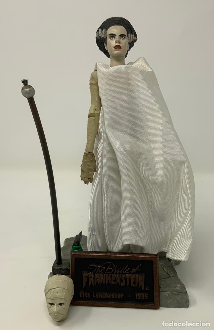 THE BRIGE OF FRANKENSTEIN ELSA LANCHESTER 1935 FIGURA SIDESHOW. 21CM (Juguetes - Figuras de Acción - Otras Figuras de Acción)