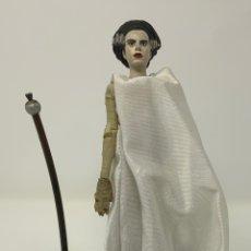 Figuras de acción: THE BRIGE OF FRANKENSTEIN ELSA LANCHESTER 1935 FIGURA SIDESHOW. 21CM. Lote 181735817