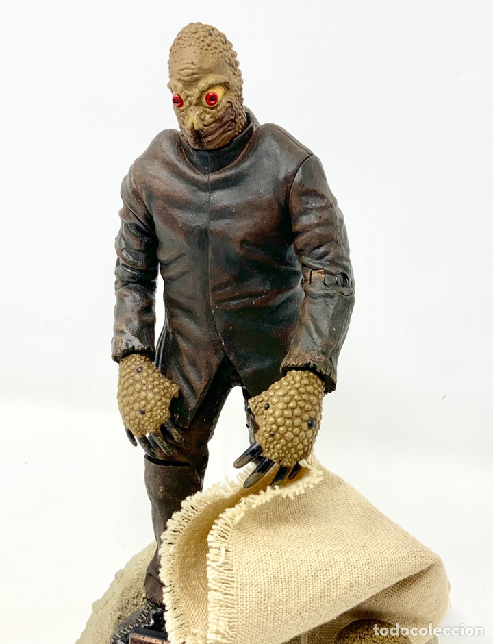 Figuras de acción: THE MOLE PEOPLE MOLE MAN 1956 FIGURA SIDESHOW. 21cm - Foto 2 - 181894617