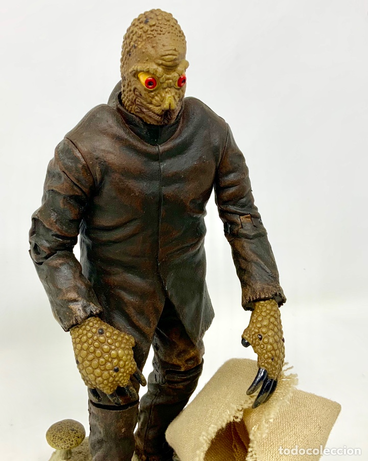 Figuras de acción: THE MOLE PEOPLE MOLE MAN 1956 FIGURA SIDESHOW. 21cm - Foto 3 - 181894617