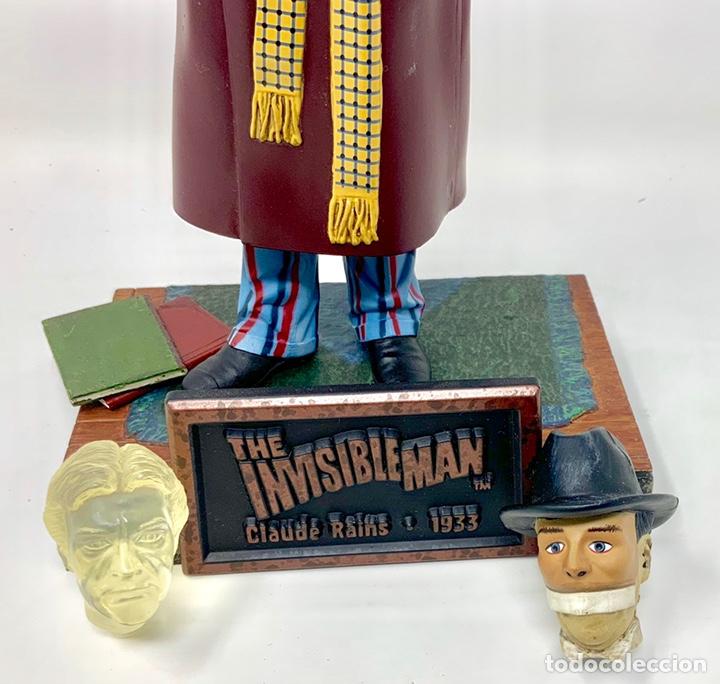 Figuras de acción: THE INVISIBLE MAN CLAUDE RAINS 1933 FIGURA SIDESHOW. 21cm - Foto 6 - 181900653