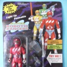 Figuras de acción: SUPER ROBOTICS RANGERS POWER RANGERS BOOTLEG SOMA 1994. Lote 182033652