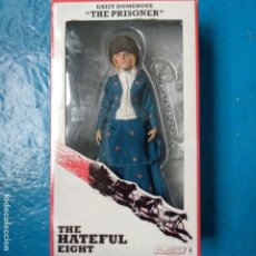 Figuras de acción: THE HATEFUL EIGHT LOS ODIOSOS OCHO FIGURA RETRO DAISY DOMERGUE THE PRISONER NECA FILM TARANTINO. Lote 182060956