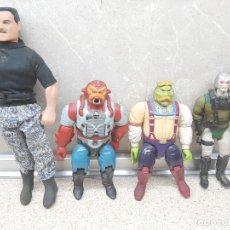 Figuras de acción: 4 MUÑECOS MATTEL BRAVESTARR, PLATOR, ARENOX,TEX MALONE Y MARCHALL CONGOST, FILMATION 1986 ( MEXICO ). Lote 182222756