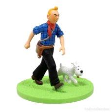 Figuras de acción: TINTIN COW-BOY COFFRET SCENE PLASTIQUE - NUEVO EN CAJA ORIGINAL. Lote 277468068