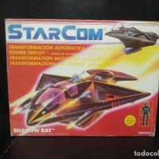 Figuras de acción: NAVE STARCOM SHADOW BAT DE COLECO. Lote 182638496