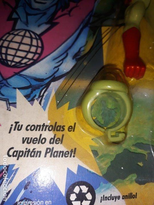 Figuras de acción: FIGURA CAPITAN PLANET - CAPITAN PLANET VOLADOR - AÑO 1991 A ESTRENAR - Foto 3 - 182693333