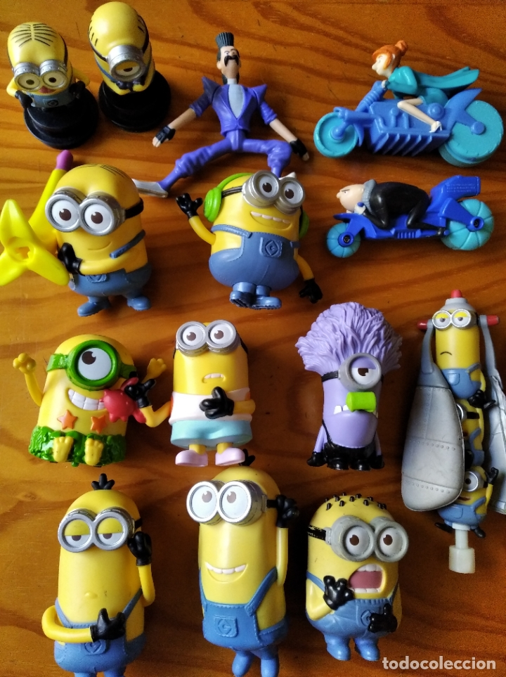 Minions, gru mi villano favorito- coleccion lot - Sold at Auction ...