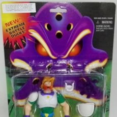 Figuras de acción: FIGURA DE ACCIÓN VINTAGE - MIGHTY DUCKS, NOSEDIVE - BLISTER ORIGINAL.. Lote 183501756