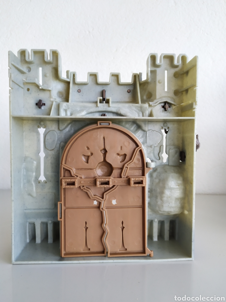 Figuras de acción: Muralla fortaleza castillo ariete figura acción chapa mei muñeco - Foto 3 - 183868952