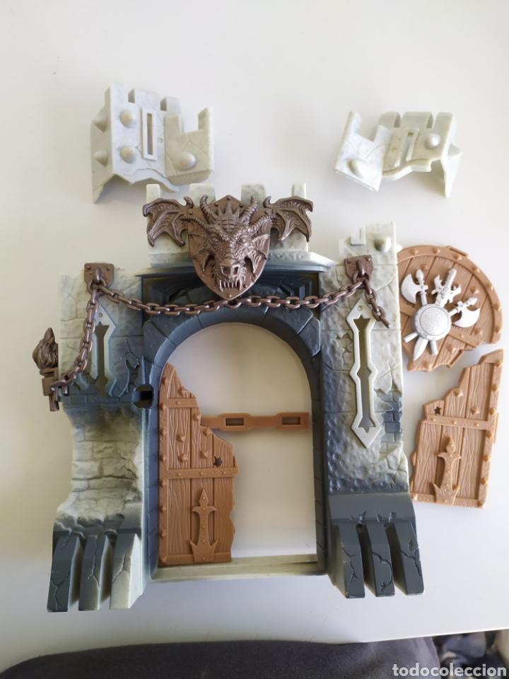 Figuras de acción: Muralla fortaleza castillo ariete figura acción chapa mei muñeco - Foto 4 - 183868952