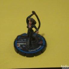 Figuras de acción: MUÑECO HEROCLIX DE SYDNEY SAVAGE. Lote 183904141
