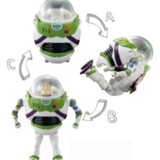 Figuras de acción: FIGURA TOY STORY BUZZ LIGHT YEAR TRANSFORMABLE MUÑECO DIBUJOS ANIMADOS DISNEY. Lote 186118066