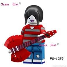 Figuras de acción: MINIFIGURA COMPATIBLE CON LEGO HORA DE AVENTURAS MARCELINE VAMPIRESA NUEVA EN BOLSA SELLADA DIBUJOS. Lote 186364320