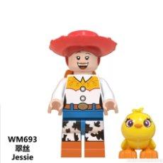 Figuras de acción: MINIFIGURA COMPATIBLE CON LEGO TOY STORY DISNEY JESSIE VAQUERA NUEVO EN BOLSA SELLADA FIGURA MUÑECO. Lote 186364466
