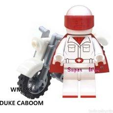 Figuras de acción: MINIFIGURA COMPATIBLE CON LEGO TOY STORY DISNEY DUKE CABOOM NUEVA EN BOLSA SELLADA FIGURA. Lote 186364663