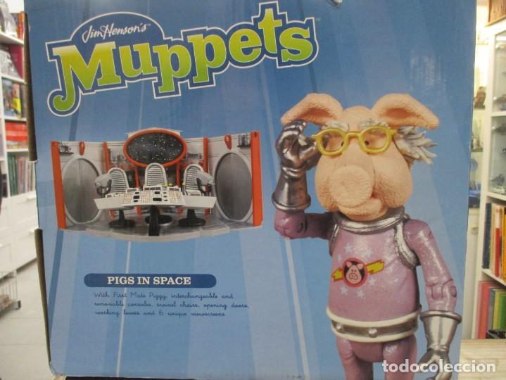 Figuras de acción: PIGS IN SPACE - PEGGY EN EL ESPACIO - MUPPETS JIM HENSON - FIGURA DE PEGGY + SALA DE MANDOS - Foto 6 - 186822712