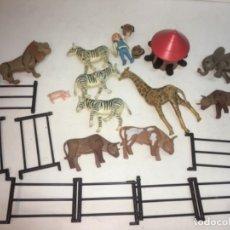 Figuras de acción: ORIGINAL DE LOS AÑOS 70 FAMOBIL PLAYMOBIL GRANJA ANIMALES. Lote 188558298