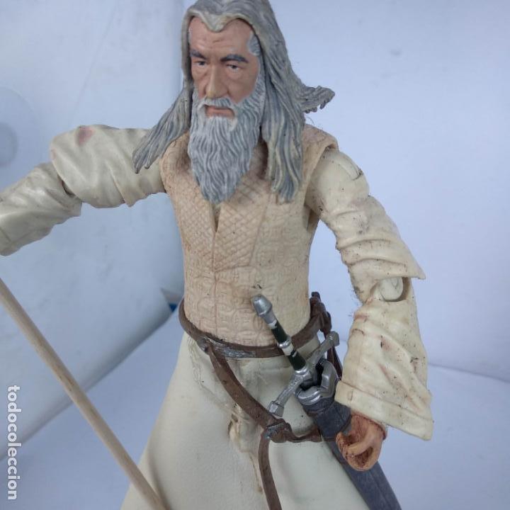 Figuras de acción: ESDLA - Figura toy Biz Gandalf el blanco - El señor de los anillos - - Foto 2 - 188739723