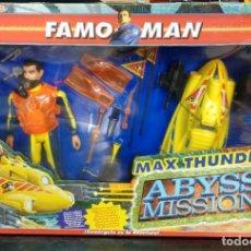 Figuras de acción: FAMOMAN MAX THUNDER ABYSS MISIÓN DE FAMOSA. Lote 189125628