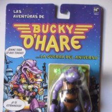 Figuras de acción: BUCKY O´HARE AL GARTON FIGURA NUEVA EN BLISTER HASBRO MB 1991. Lote 189699108
