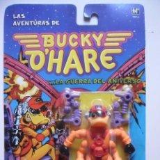 Figuras de acción: BUCKY O´HARE PATUERTO FIGURA NUEVA EN BLISTER HASBRO MB 1991. Lote 189699482