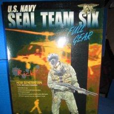 Figuras de acción: FIGURA DE DRAGON MODELS U.S. NAVY SEAL TEAM SIX AÑO 2000. Lote 189823206