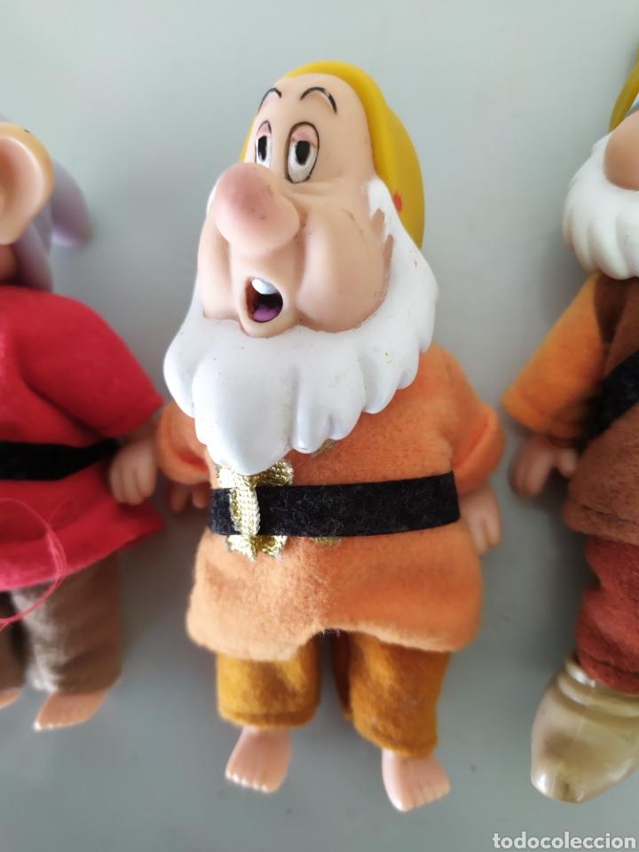 Figuras de acción: Lote enanitos Blancanieves Disney figuras muñecos enanos simba - Foto 4 - 189977583