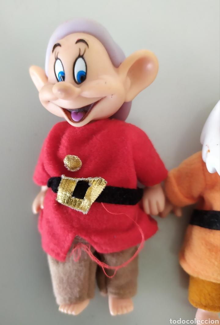 Figuras de acción: Lote enanitos Blancanieves Disney figuras muñecos enanos simba - Foto 5 - 189977583
