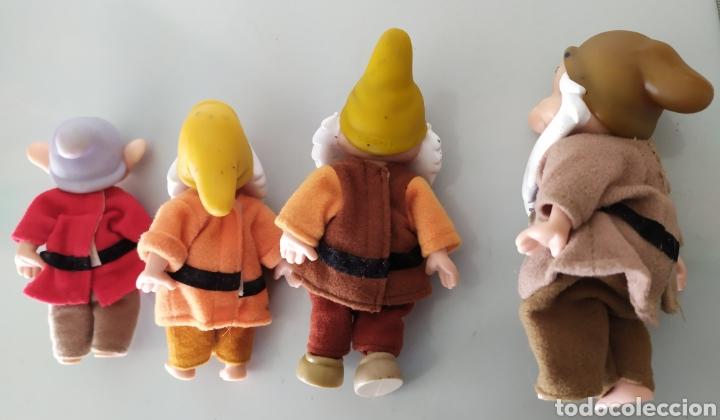 Figuras de acción: Lote enanitos Blancanieves Disney figuras muñecos enanos simba - Foto 6 - 189977583