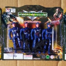 Figuras de acción: LOTE FORCES OF VALOR SET / FORCE ARMY MAN / BLACK AIR SHARK COMBAT HELICOPTER. PRECINTADO.. Lote 190120078