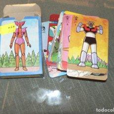 Figuras de acción: JUEGO DE 48 CARTAS DE MAZINGUER Z NUEVO SIN USAR MUY ANTIGUO. Lote 190191693
