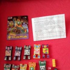 Figuras de acción: LOTE DE 10 NAK - NAK CON DADOS, INSTRUCCIONES Y CATÁLOGO. Lote 191355766