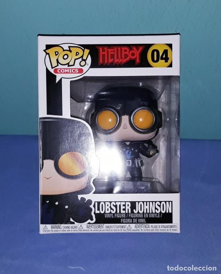 FUNKO POP HELLBOY LOBSTER JOHSON Nº 04 IDEAL COLECCIONISTAS A ESTRENAR (Juguetes - Figuras de Acción - Otras Figuras de Acción)