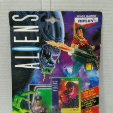 Figuras de acción: ALIENS. LT RIPLEY. KENNER. NUEVO EN BLISTER. 1992. FIGURA. SPACE MARINE LT. RIPLEY.. Lote 192634397