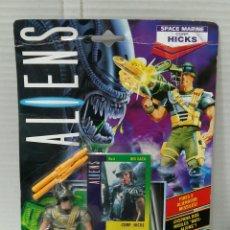 Figuras de acción: ALIENS. HICKS. KENNER. NUEVO EN BLISTER. 1992. FIGURA. SPACE MARINE CORP. HICKS.. Lote 192634647