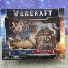 Figuras de acción: WARCRAFT - LOTHAR VS BLACKHAND - DELUXE MINI FIGURE SET - LEGENDARY. Lote 192692427