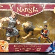 Figuras de acción: NARNIA THE LION, THE WITCH AND THE WARDROBE DE HASBRO. Lote 193279223