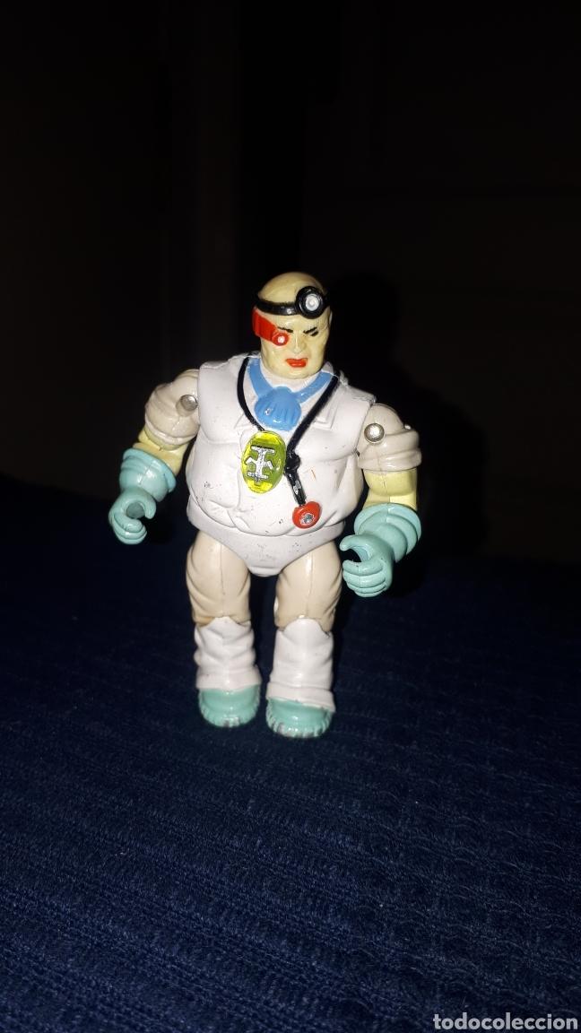 FIGURA DE METAL DR. SCARABA BIONIC SIX LJN TOYS 1986 (Juguetes - Figuras de Acción - Otras Figuras de Acción)
