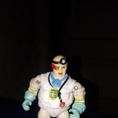 Figuras de acción: FIGURA DE METAL DR. SCARABA BIONIC SIX LJN TOYS 1986. Lote 194259712