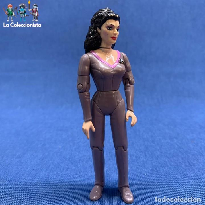 Deanna Troi Star Trek Next Generation action figure 1992 Playmates