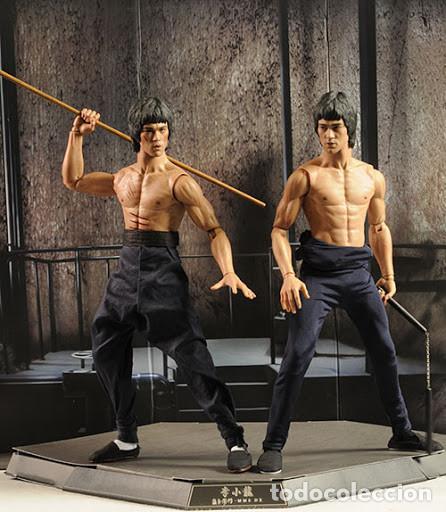 Figuras de acción: Bruce Lee - Hot Toys DX04 1/6 - Enter the Dragon + Game of Death + Extra Body - Foto 8 - 194521225
