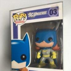 Figuras de acción: BATGIRL FIGURA FUNKO POP HEROES DC UNIVERSE 03 VAULTED RARO FIGURE CON PROTECTOR. Lote 195164220
