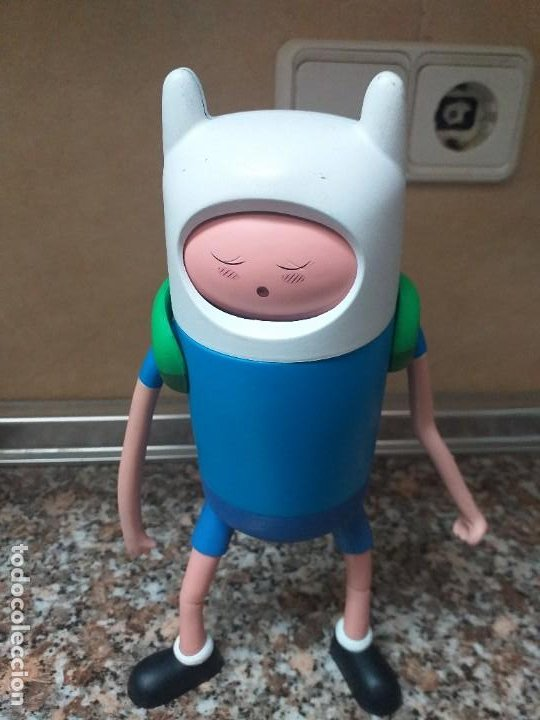 Figuras de acción: Figura Finn Jzwares cartoon network - Foto 1 - 195343033