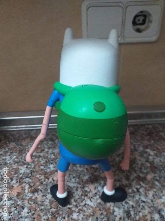 Figuras de acción: Figura Finn Jzwares cartoon network - Foto 2 - 195343033