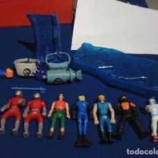 Figuras de acción: LOTE ACTION MAN HAPPY MEAL MCDONALDS MC DONALDS 2001/02/03 ( 7 FIGURAS Y 5 ACCESORIOS ) ACTION MAN. Lote 195434055