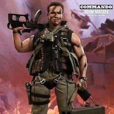 Figuras de acción: HOT TOYS COLLECTIBLES. JOHN MATRIX.. COMMANDO. SET COMPLETO. MMS 276 (MASTERPIECE MOVIE SERIES). Lote 176682522